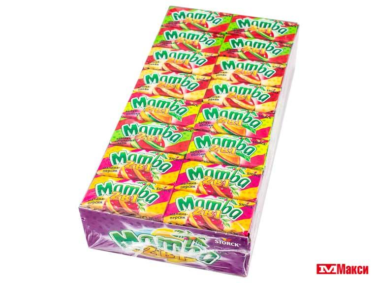 коса 110г жевательная конфета мамба