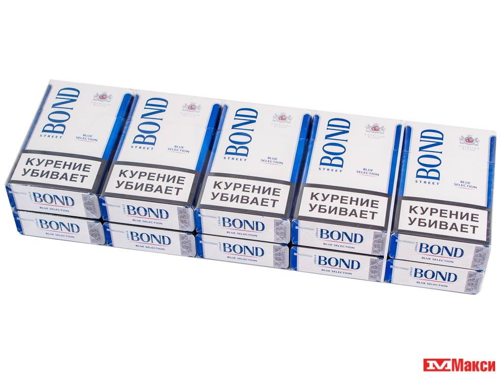 "СИГАРЕТЫ ""BOND STREET"" BLUE SELECTION (PMI)(мрц 115,00)"