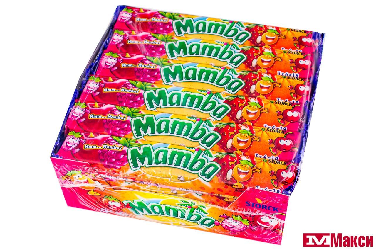 жевательная конфета мамба купить
